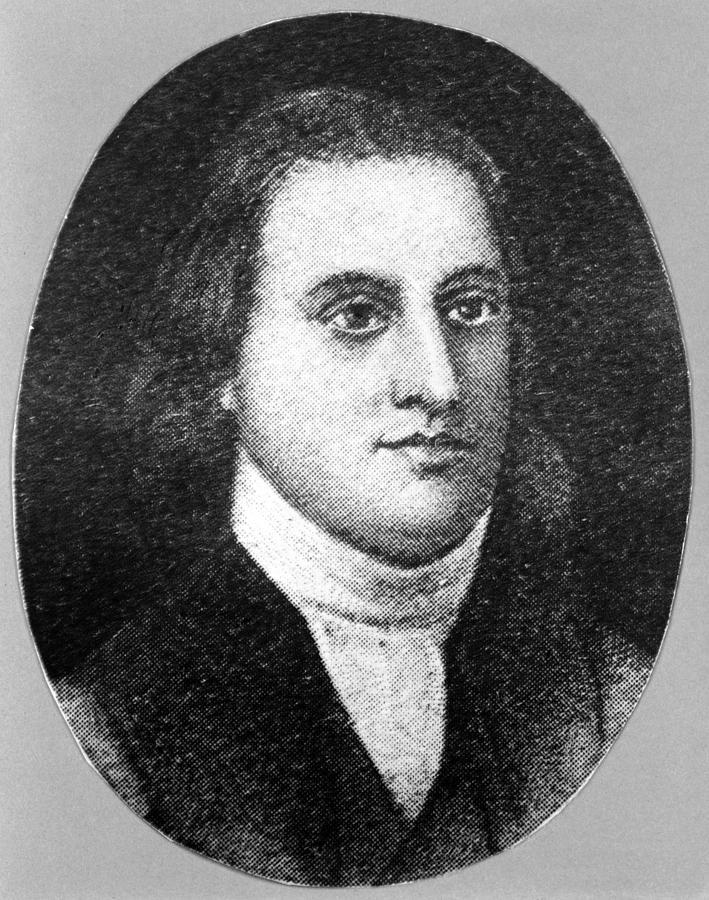 Button Gwinnett,1769. Button Gwinnett Photograph