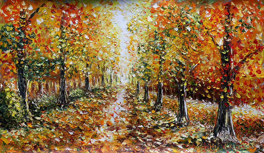 buy landscape oil painting for sale autumn by