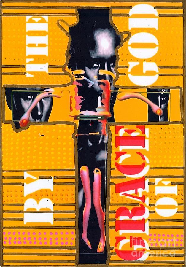 Grace Jones Drawing - By The Grace Of God by Ricky Sencion