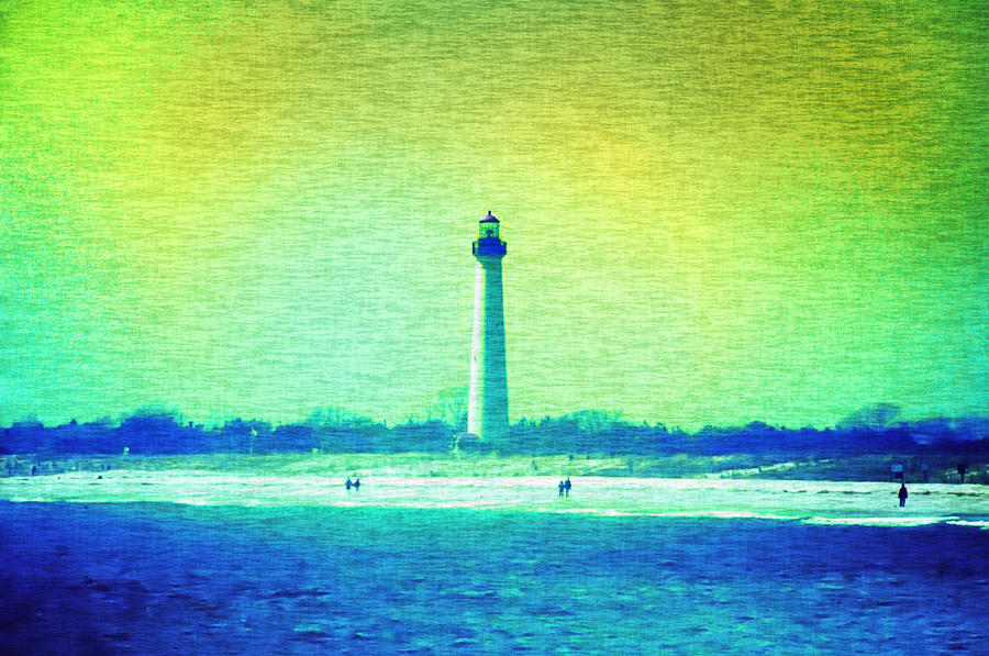 By The Sea - Cape May Lighthouse Photograph  - By The Sea - Cape May Lighthouse Fine Art Print
