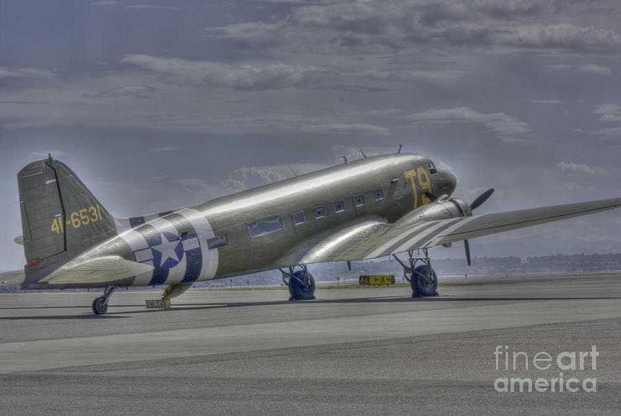 C47 Photograph - C-47 Skytrain by David Bearden