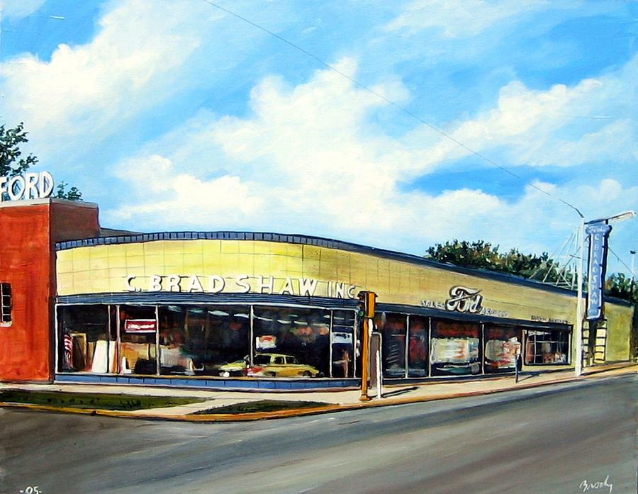 C Bradshaw Painting