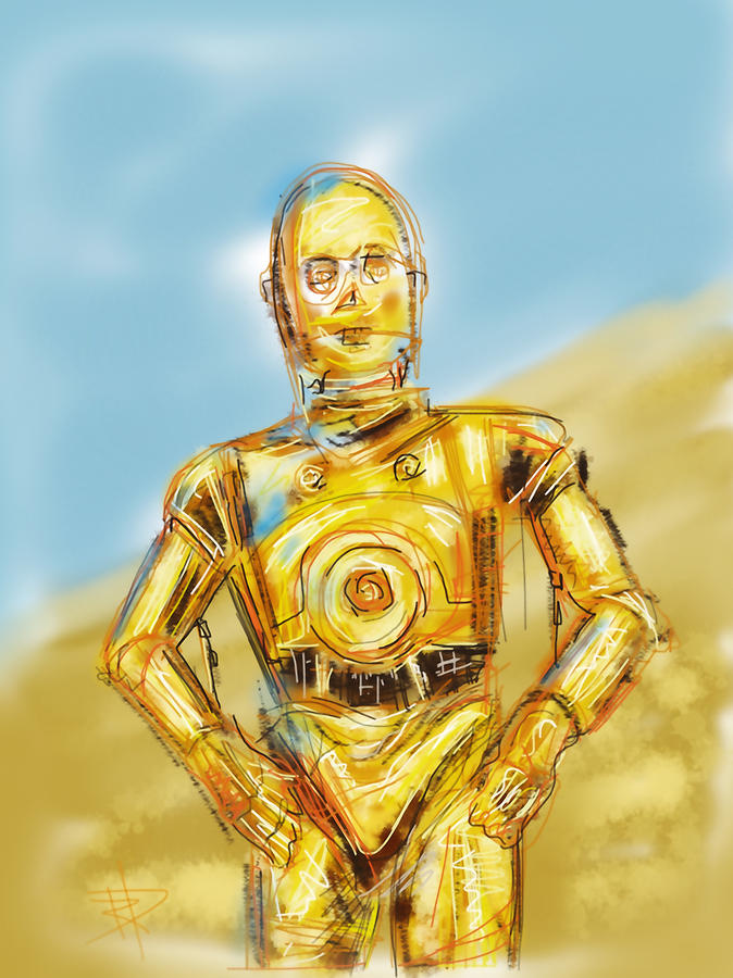C3po Digital Art