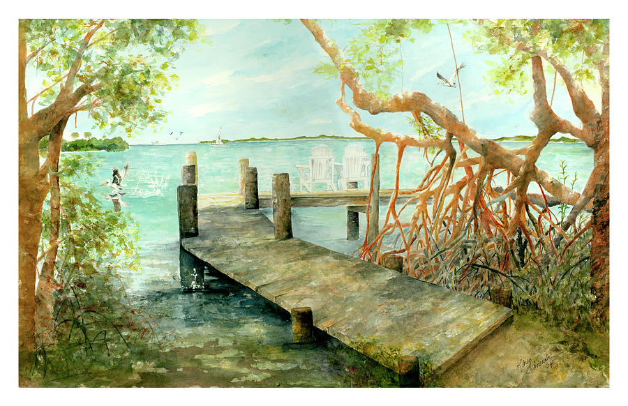 Cabbage Key Painting