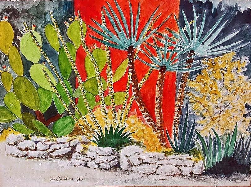 Cactus Garden  Painting
