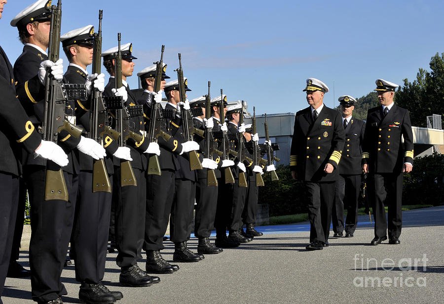 Cadets Of The Royal Norwegian Naval Photograph By