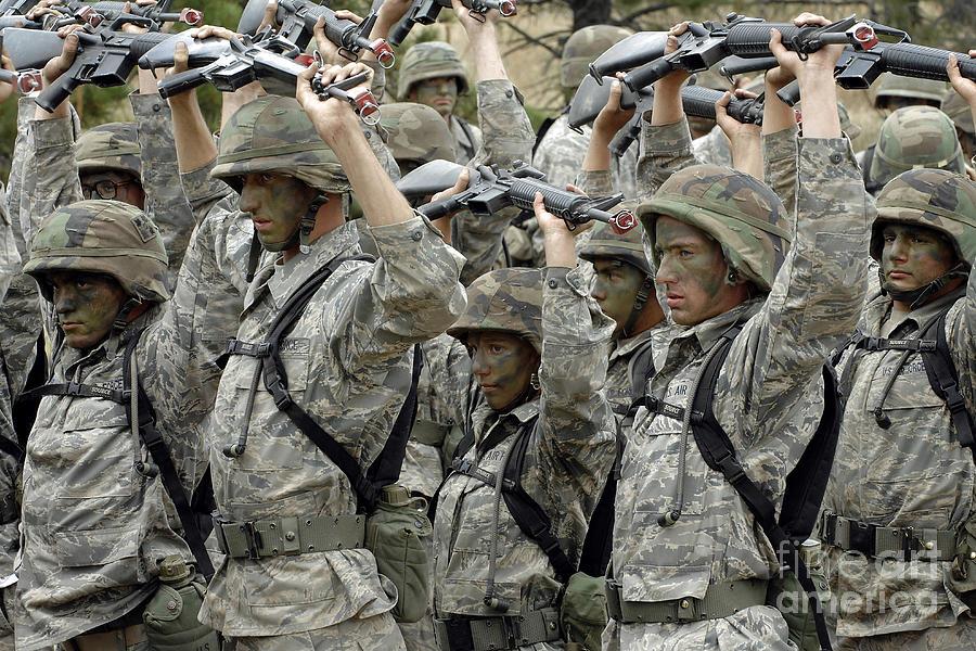 Cadets Prepare To Participate Photograph