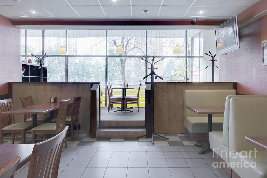 Cafe Dining Room Photograph