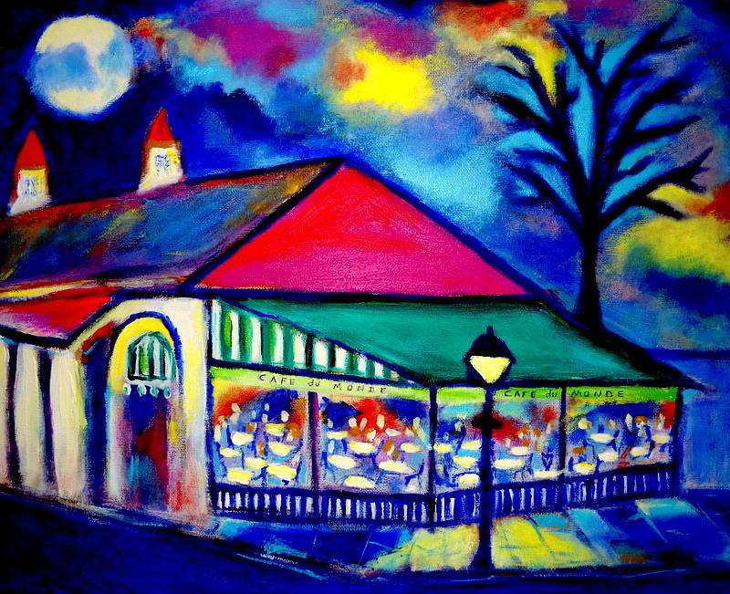 Cafe du monde by ted hebbler for Art du monde
