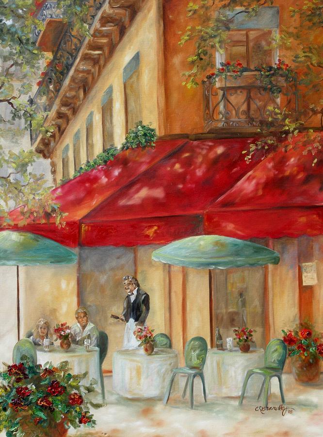 Cafe Paris Painting