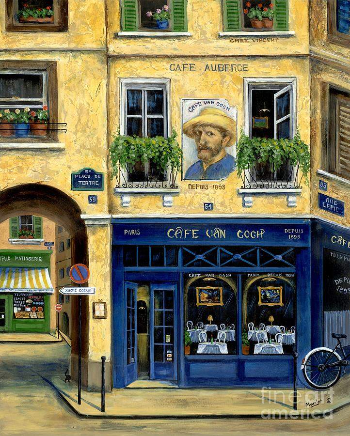 Cafe Van Gogh Painting  - Cafe Van Gogh Fine Art Print