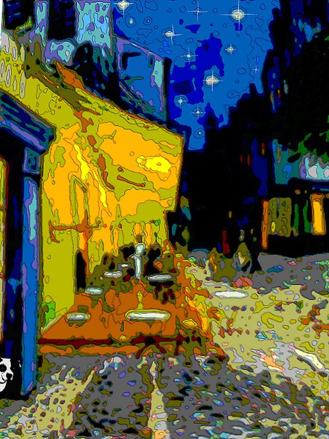 Cafe Vincent Painting