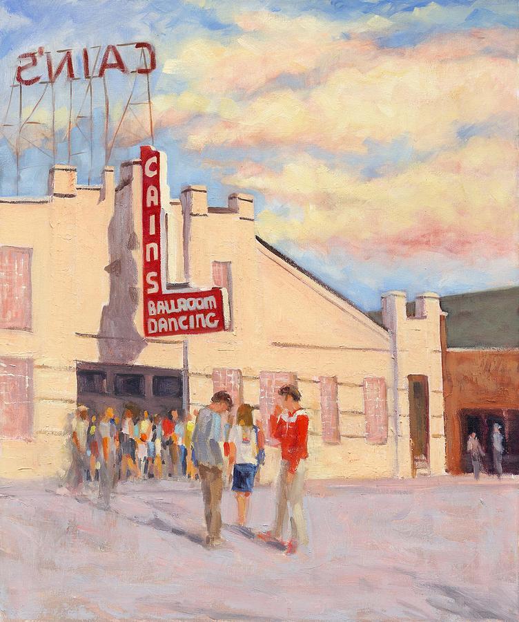 Cains Ballroom Tulsa Painting