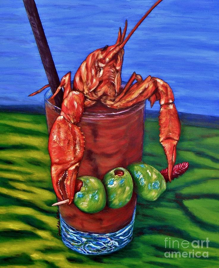 Cajun Cocktail Painting  - Cajun Cocktail Fine Art Print