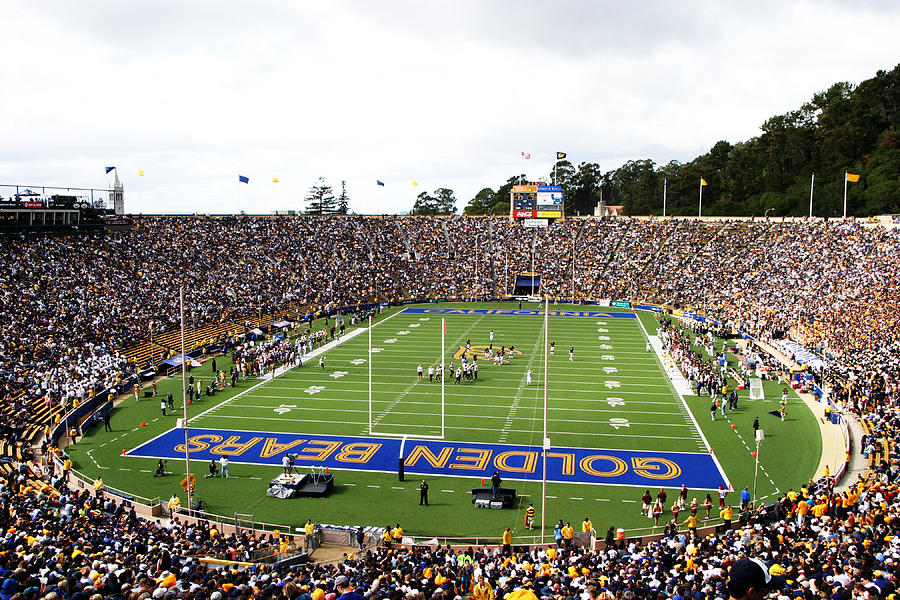 Cal Photograph - Cal  Memorial Stadium by Icon Sports Media