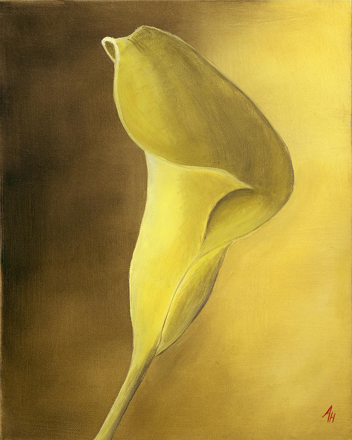 Cala Lilly Painting