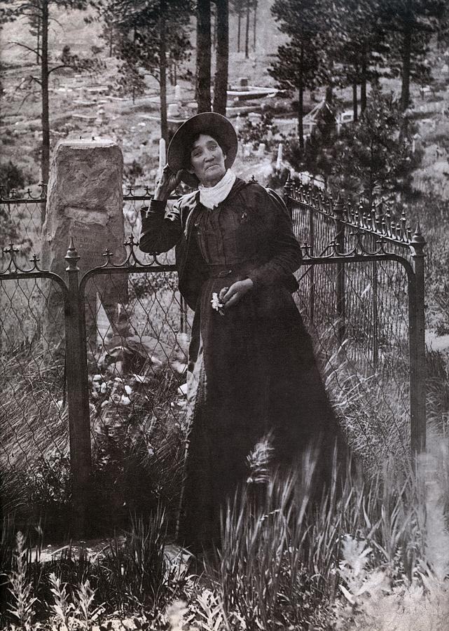 History Photograph - Calamity Jane Martha Jane Burke by Everett