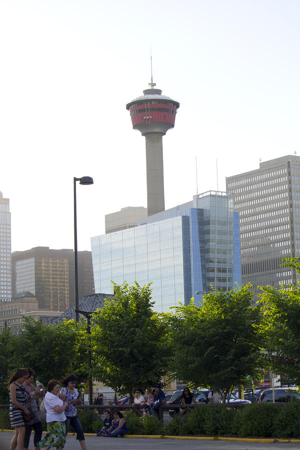 Calgary Tower View 2 Photograph