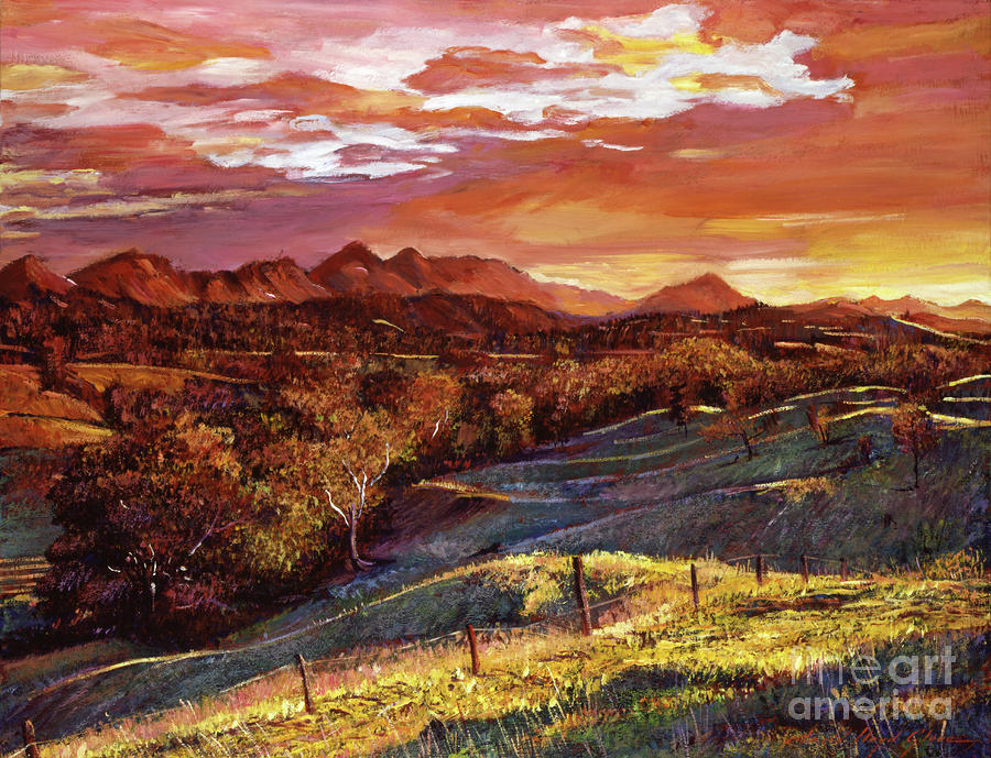 California Dreaming Painting  - California Dreaming Fine Art Print