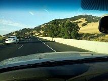 California Hills From The Car Photograph 