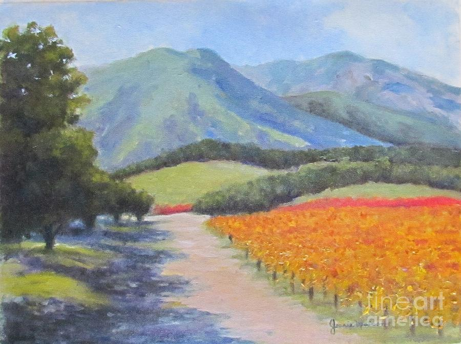 Landscape Painting - California by Jeanie Watson