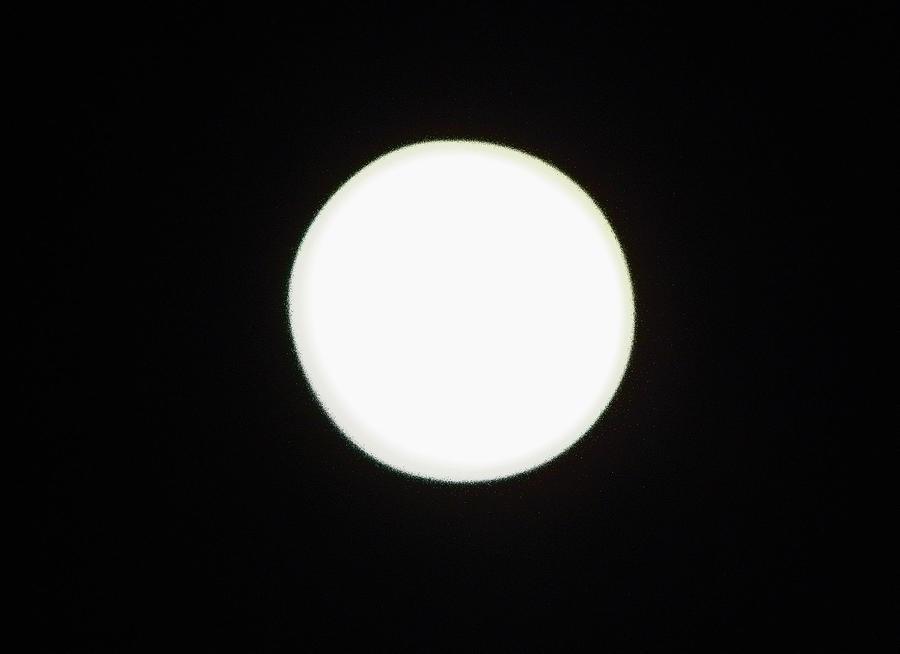 California Moon Photograph