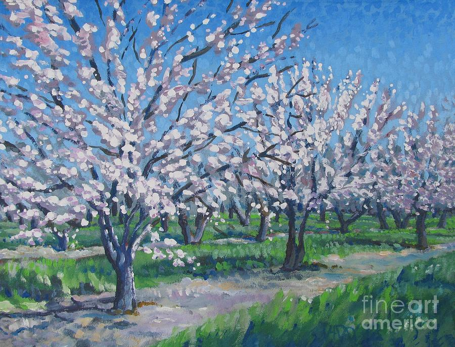 California Orchard Painting