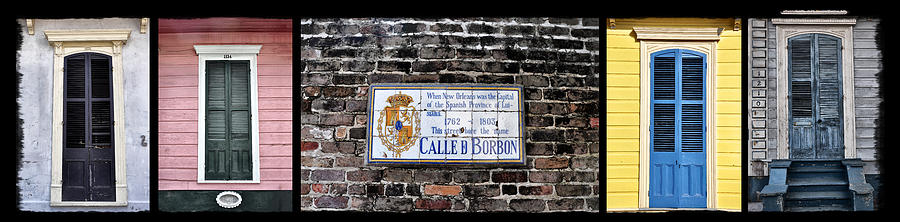 Calle D Borbon Photograph - Calle D Borbon by Bill Cannon