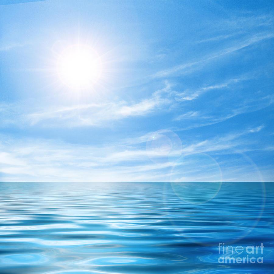 Calm Seascape Photograph