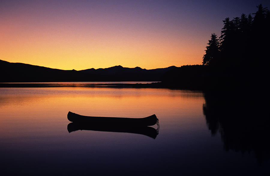 Calming Canoe Photograph