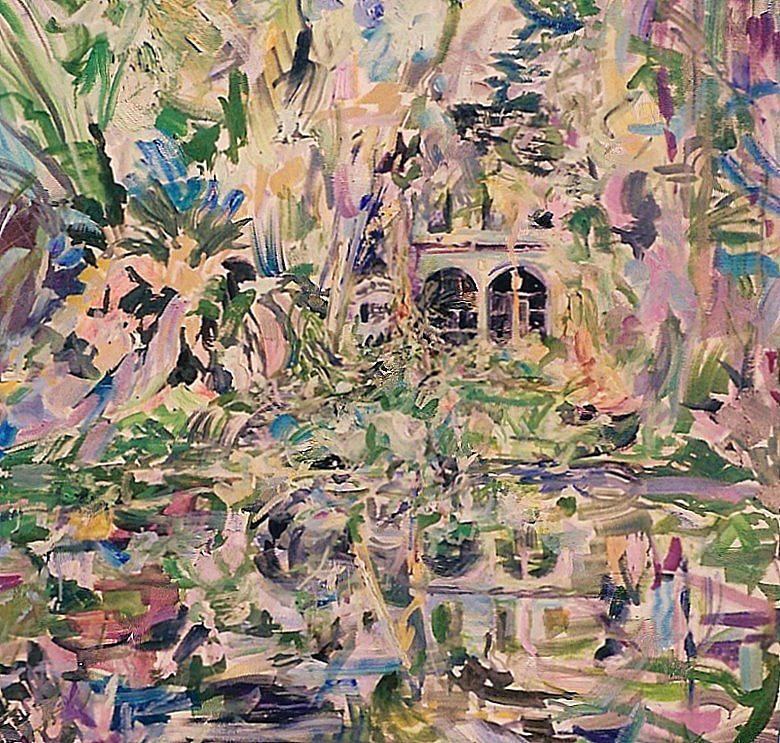 Caloosa Belle Painting