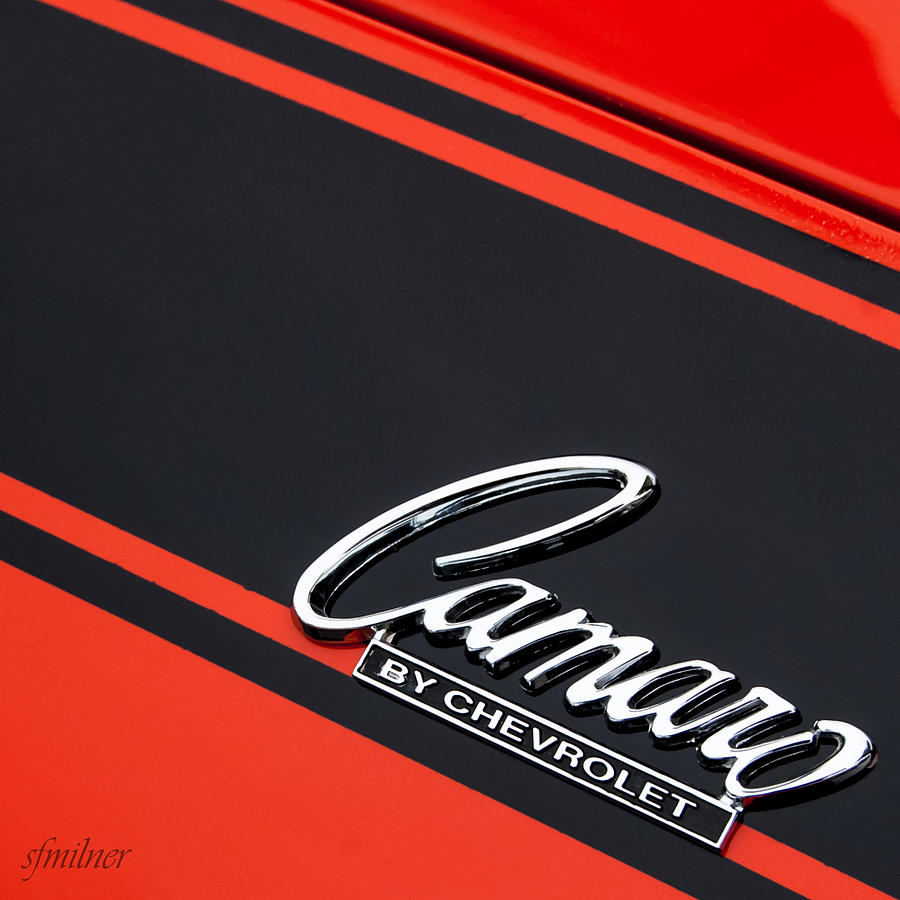 Camaro By Chevrolet Photograph