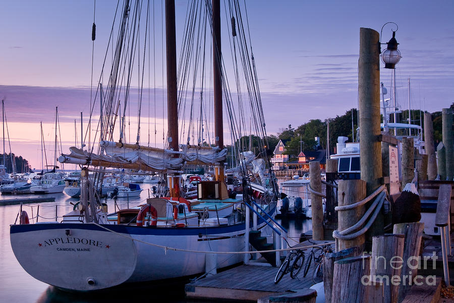 Camden Windjammer Dawn Photograph