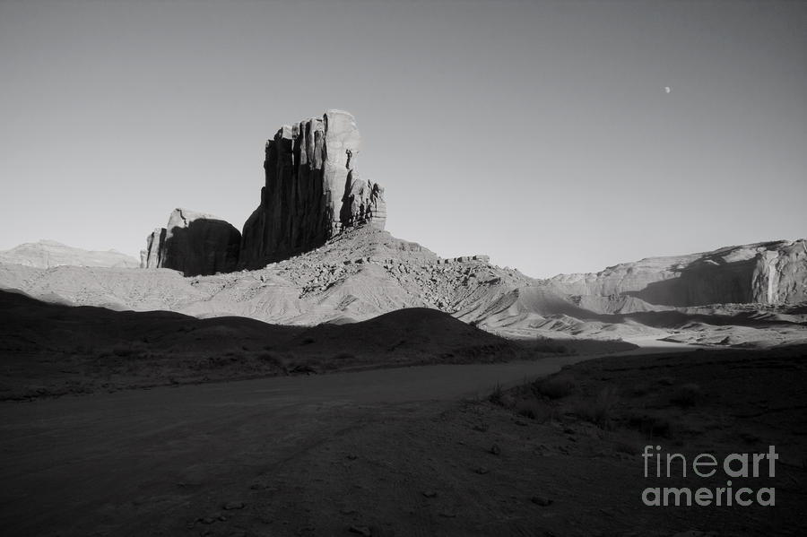 Camel Butte In Monument Valley Utah Photograph