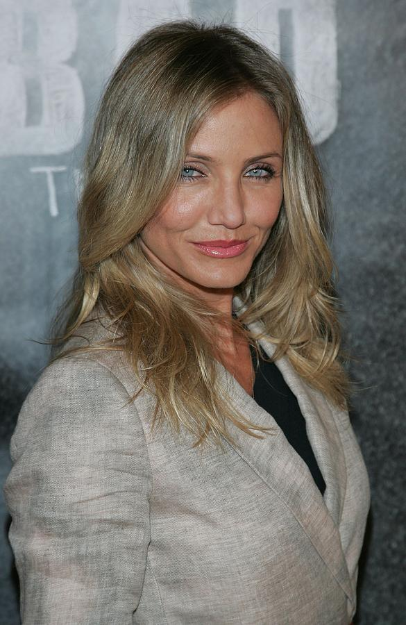 Cameron Diaz At A Public Appearance Photograph  - Cameron Diaz At A Public Appearance Fine Art Print