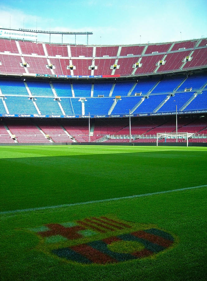 Camp Nou - Barcelona Photograph  - Camp Nou - Barcelona Fine Art Print