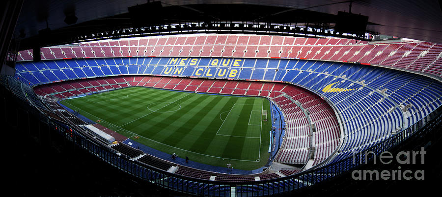 Camp Nou Photograph  - Camp Nou Fine Art Print