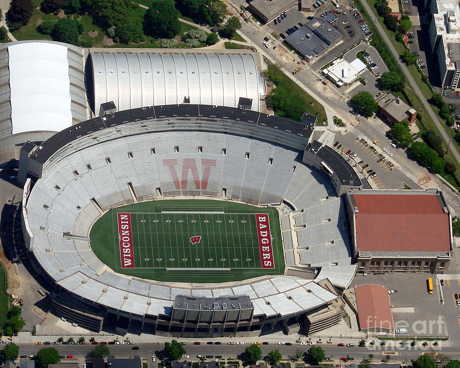 Camp Randall Stadium Photograph  - Camp Randall Stadium Fine Art Print