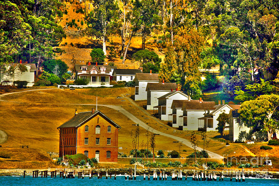 Camp Reynolds Angel Island Photograph  - Camp Reynolds Angel Island Fine Art Print