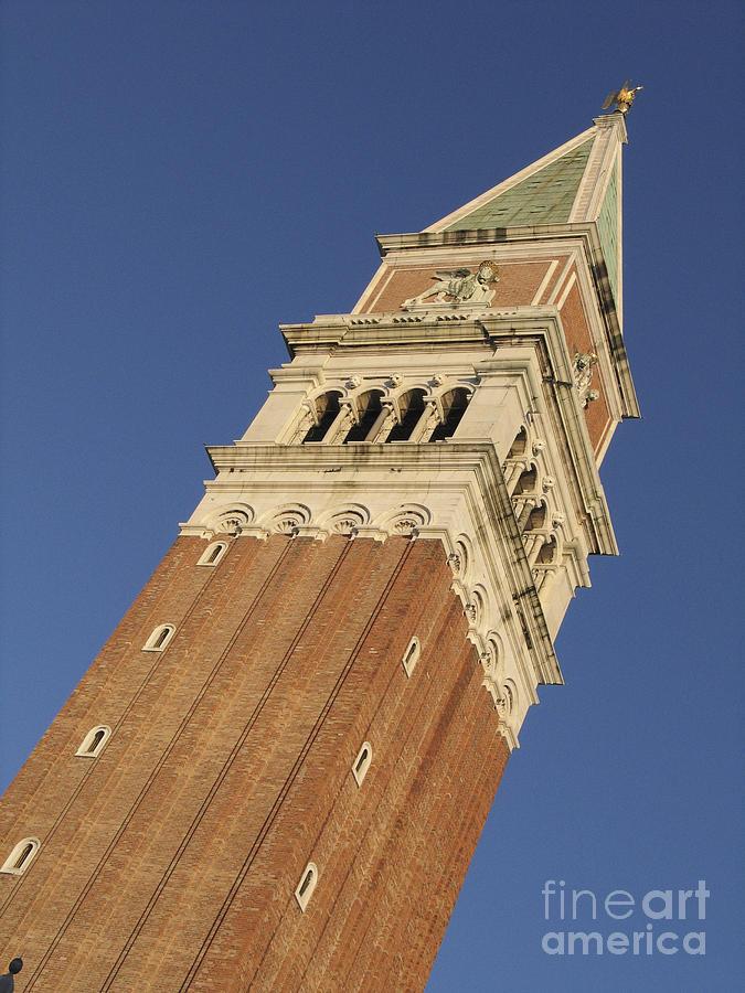 Campanile . Plazza San Marco. Venice Photograph