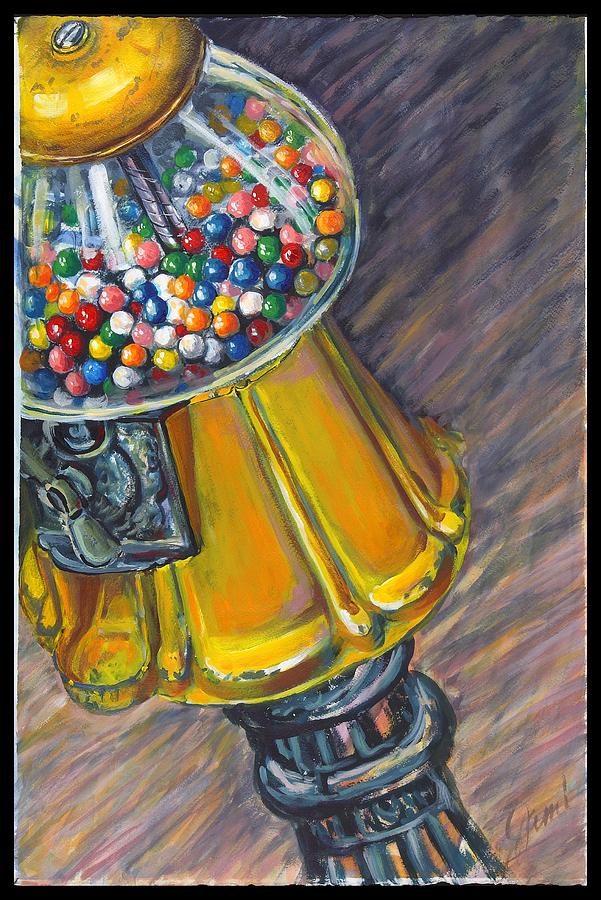 Can I Have A Penny Please Painting  - Can I Have A Penny Please Fine Art Print