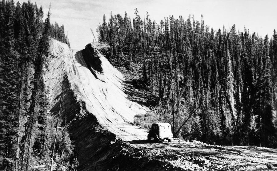 Canada: Alaska Highway Photograph