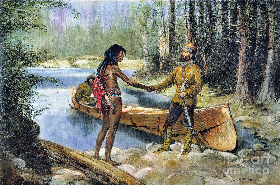 the history of the fur trade in america in the 19th century The fur trade: beaver powered territory well into the 19th century the first substantial american venture was the american fur trade was dormant from 1814.