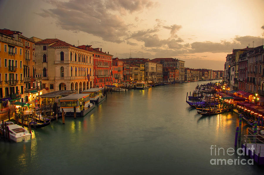 Canal Grande Photograph