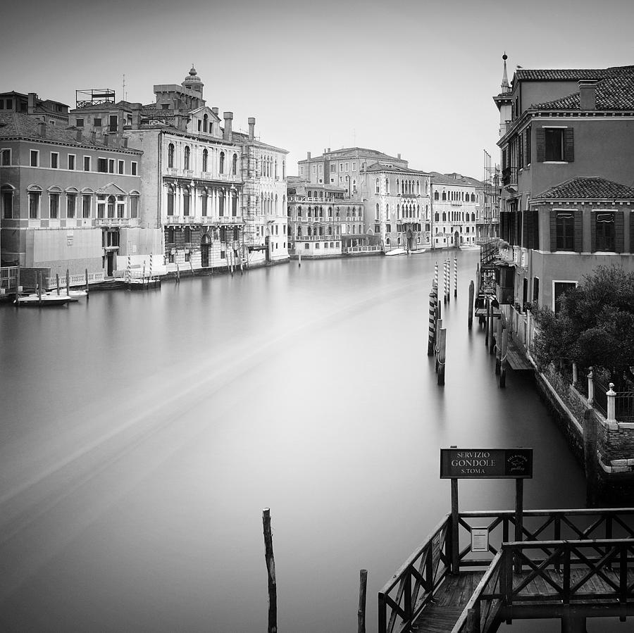 Venice Photograph - Canal Grande Study Iv by Nina Papiorek