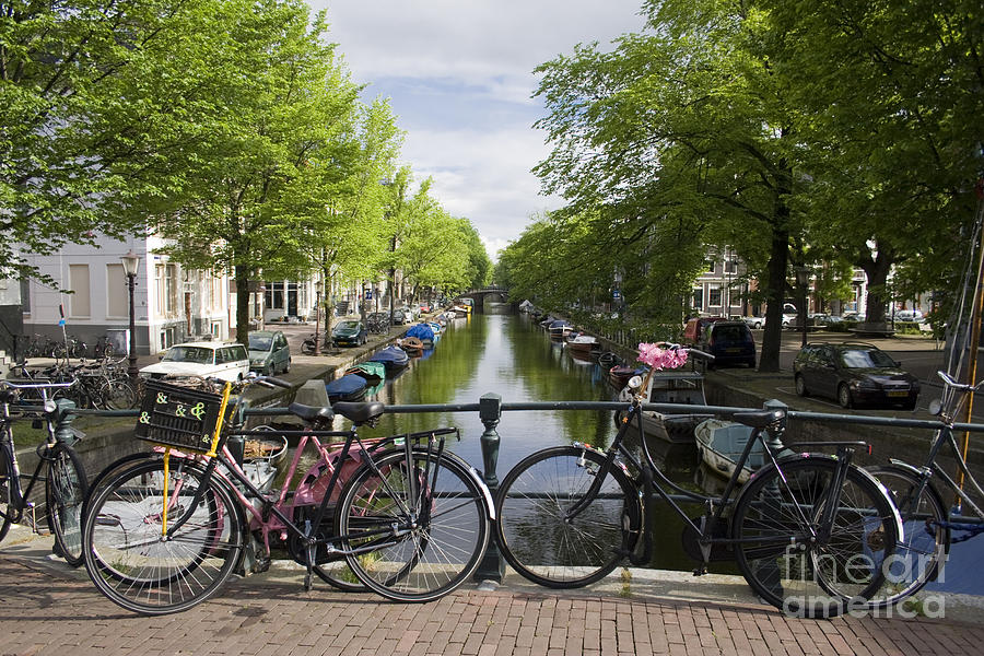 Canal Of Amsterdam Photograph