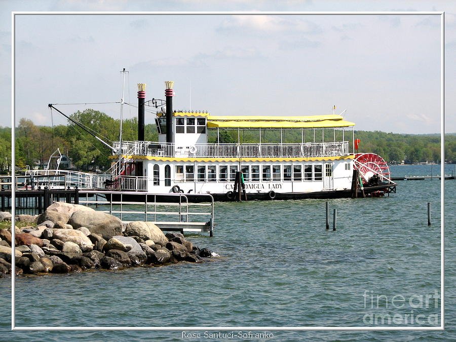 Canandaigua Lady Paddleboat Photograph