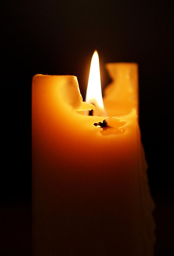 Candlelight Photograph  - Candlelight Fine Art Print