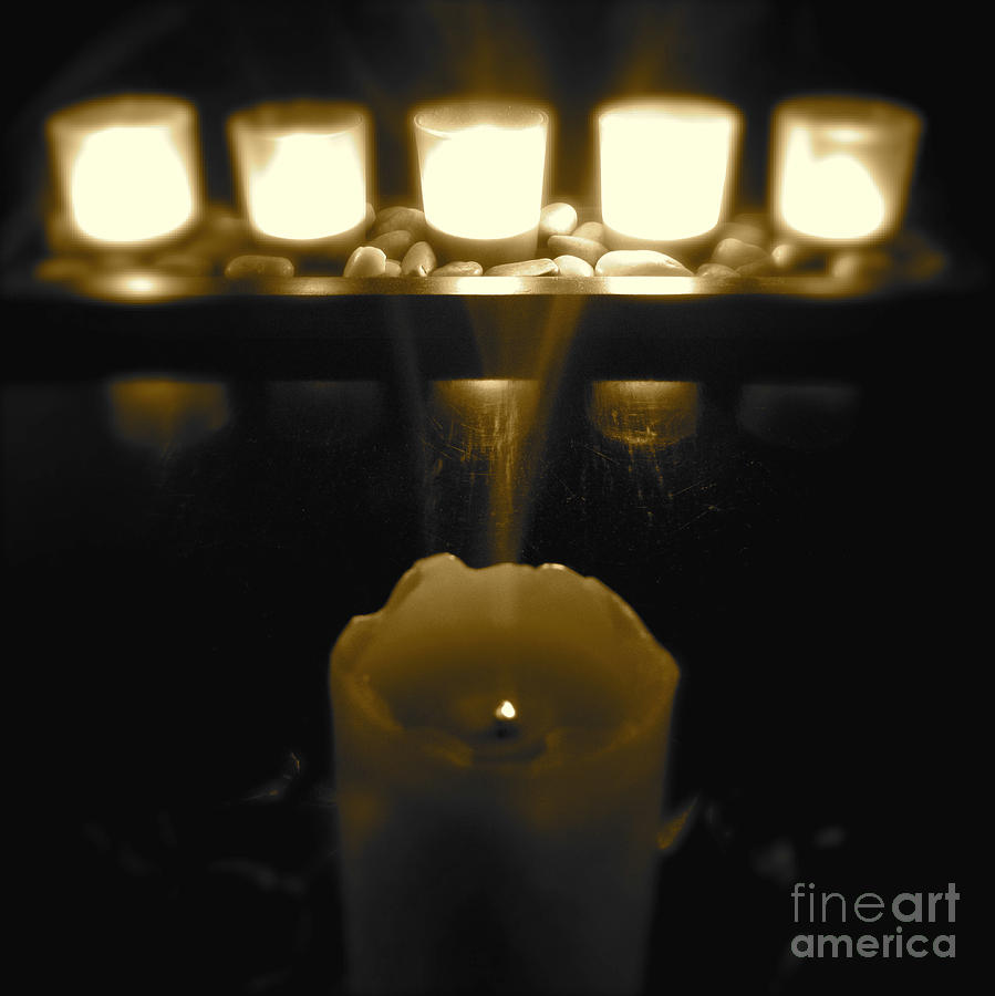 Candles Photograph  - Candles Fine Art Print