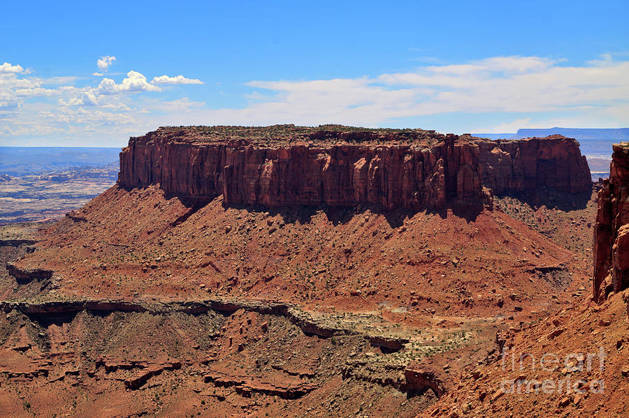 Candlestick Tower Overlook In Canyonlands National Park Photograph  - Candlestick Tower Overlook In Canyonlands National Park Fine Art Print